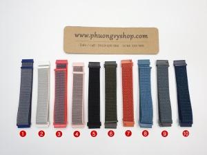 Dây vải thun - chốt thông minh (20mm, 22mm)